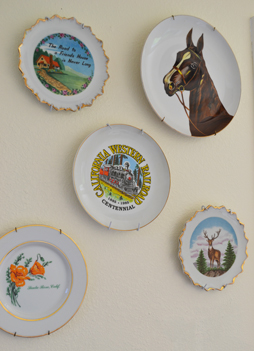 Estate Sale Collector's Plates