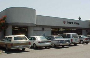 Salvation Army on Third St., Santa Rosa