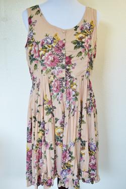 Pretty Floral Sun Dress