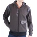 mens upcycled hoodie by Looptworks