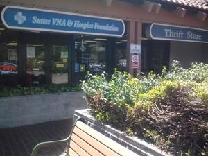 Sutter Care at Home Thrift Store in Sebastopol, CA