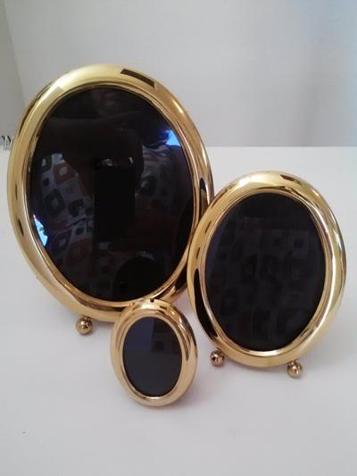 Vintage Oval Picture Frames
