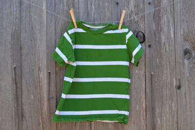 boys clothing, striped green shirt, back-to-school shopping