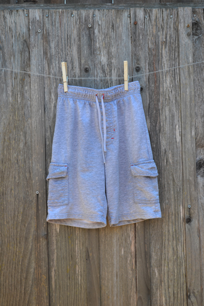 boys clothing, Jumping Beans grey cargo shorts, back-to-school shopping